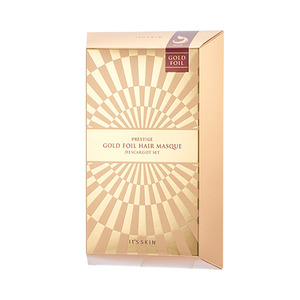 It's skin PRESTIGE Gold Foil Hair Masque D'escargot 4ea