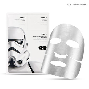 The FACE Shop Hydro-Lifting Silver Foil Face Mask