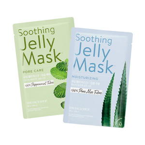 THE FACE SHOP Soothing Jelly Mask 5 sheet