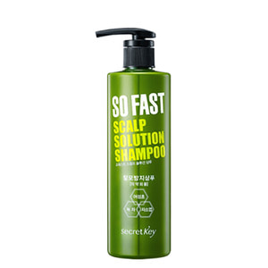 secretKey So Fast Scalp Solution Shampoo 500ml