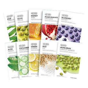 THE FACE SHOP Real Nature Mask 10 Sheets