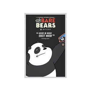 Missha Herb In Nude Sheet Mask Firming Care (We Bare Bears Edition)