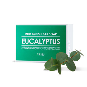 A'PIEU Mild British Bar Soap Eucalyptus