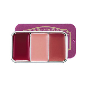 SkinFood Fresh Fruit Lip & Cheek Trio (Plum Mellow)