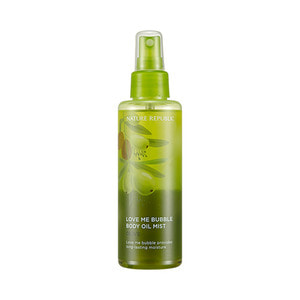 Nature Republic Love Me Bubble Body Oil Mist Olive 155ml