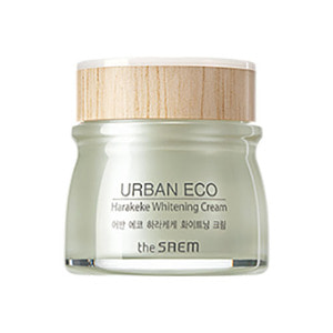 the SAEM Urban Eco Harakeke Whitening Cream 60ml