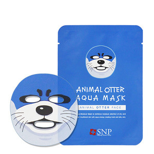 SNP Animal Otter Aqua Mask 10ea
