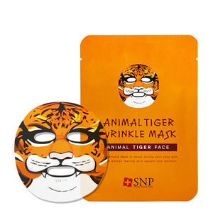 SNP Animal Tiger Wrinkle Mask 10ea