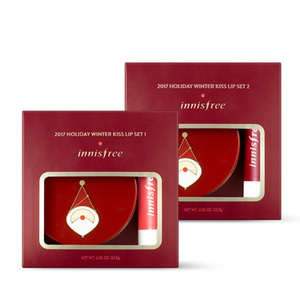 Innisfree Holiday Winter Kiss Lip Set