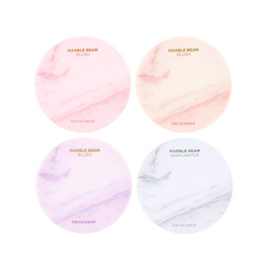 THE FACE SHOP Marble Beam Blush & Highlighter 7g