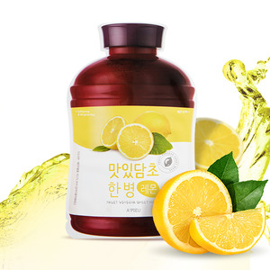A'PIEU Fruit Vinegar Sheet Mask Lemon 5ea