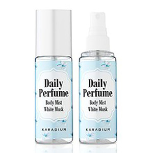 KARADIUM DAILY PERFUME BODY MIST WHITE MUSK 80ml
