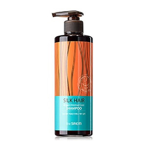 the SAEM Silk Hair Argan Intense Care Shampoo 380g