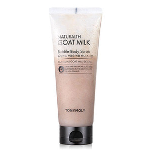 TONYMOLY Naturalth Goat Milk Bubble Body Scrub 150ml