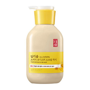 ILLIYOON Fresh Moisture Scrub Body Wash 400ml