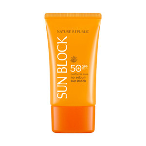 Nature Republic California Aloe No Sebum Sun Block SPF50+ PA++++ 57ml