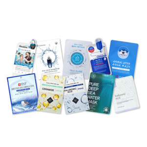 Mask sheet trial kit (Aqua)