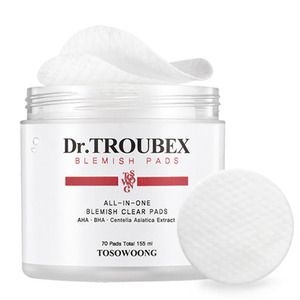 TOSOWOONG Dr. Troubex Blemish Pad (70pcs in a box)