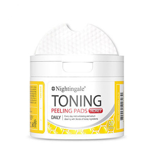 Nightingale Toning Peeling Pads Honey 50ea