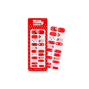 HOLIKA HOLIKA Sweet Peko Edition Piece Matching Nails Nail Fit Sticker 1ea(22tips)