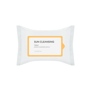 MISSHA All-around Safe Block Sun Cleansing Tissue 20ea