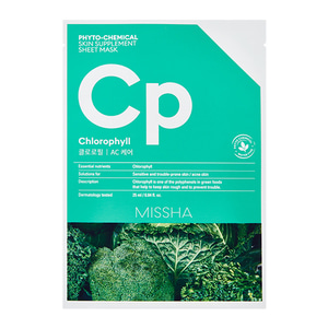 MISSHA Phyto-Chemical Skin Supplement Sheet Mask Cp 25ml