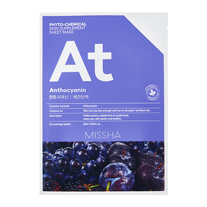 MISSHA Phyto-Chemical Skin Supplement Sheet Mask At 25ml