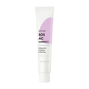 MISSHA SOS AC Correct Clay Mask 60ml