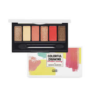 ETUDE HOUSE Colorful Drawing Fantastic Color Eyes 4.2g