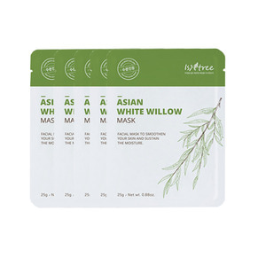 Isntree Asian White Willow Mask 25g * 5ea