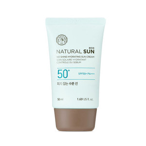THE FACE SHOP Natural Sun Eco No Shine Hydrating Sun Cream SPF50 PA+++ 50ml