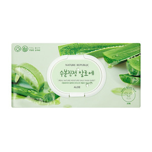 Nature Republic Real Nature Moisture Daily Mask Sheet 30ea