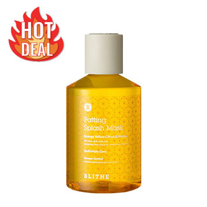 [HOT DEAL] BLITHE Patting Splash Mask Energy Citrus & Honey 200ml