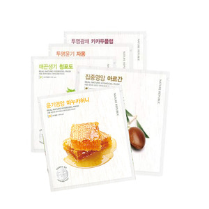 NATURE REPUBLIC Real Nature Hydrogel Mask 22g 5ea
