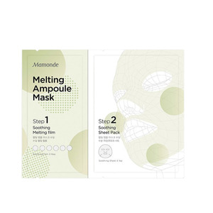 MAMONDE Melting Ampoule Mask Soothing 28ml 1ea