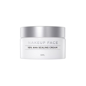 NAKEUP FACE 10% Glycolic Acid AHA Scaling Cream 30ml