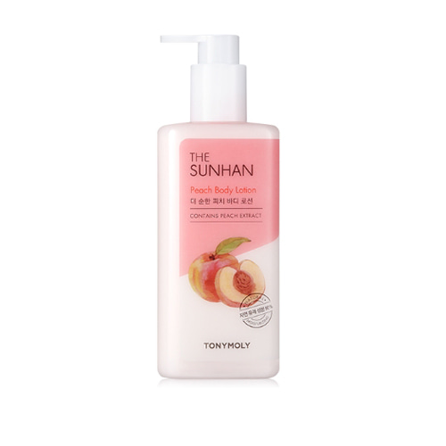 TONYMOLY The Sunhan Peach Body Lotion 300ml