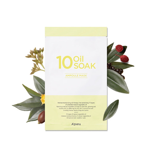A'PIEU 10 Oil Soak Mask 22g * 5ea
