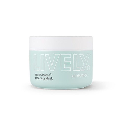 Aromatica LIVELY Vege Cleanse Sleeping Mask​ 100g
