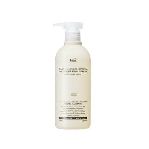 Lador Triplex 3 Natural Shampoo 530ml