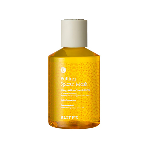 BLITHE Patting Splash Mask Energy Citrus & Honey 200ml