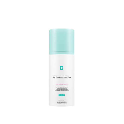 TOSOWOONG SOS Tightening Pore Clinic Daily Peeling Booster 80ml