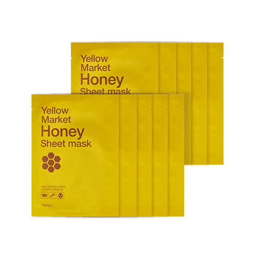 A'PIEU Yellow Market Honey Sheet Mask 10ea