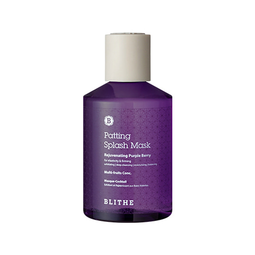 BLITHE Patting Splash Mask Rejuvenating Purple Berry 200ml
