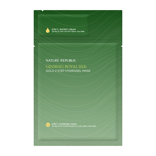 NATURE REPUBLIC Ginseng Royal Silk Gold 2 Step Hydrogel Mask