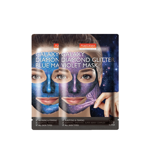 PUREDERM Galaxy Diamond Glitter Mask 10g