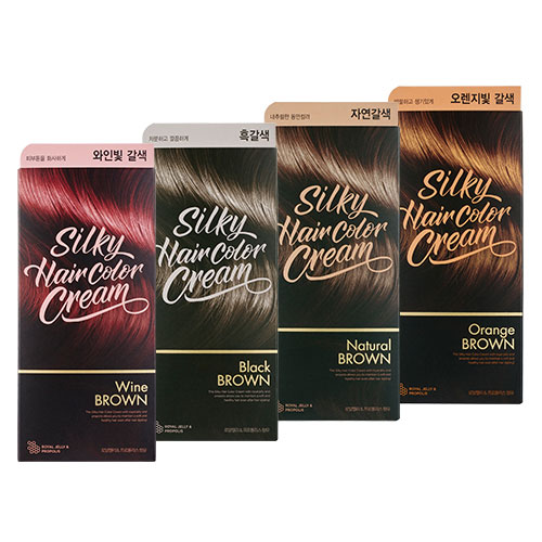 THE FACE SHOP Stylist Silky Hair Color Cream