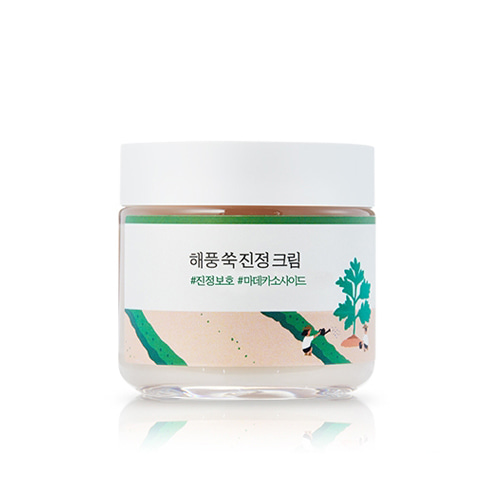 [TIME DEAL] ROUND LAB Mugwort Calming Cream 80ml