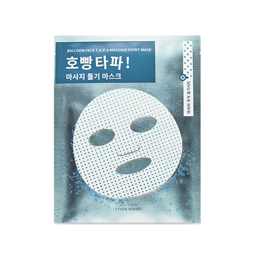 ETUDE HOUSE Balloon Face T.A.P.A Massage Point Mask 1ea