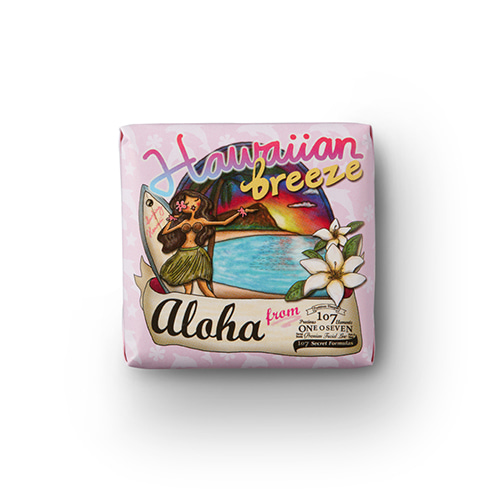 ONEOSEVEN Hawaiian Breeze Soap 100g